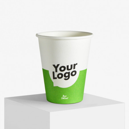 Paper cups with your logo